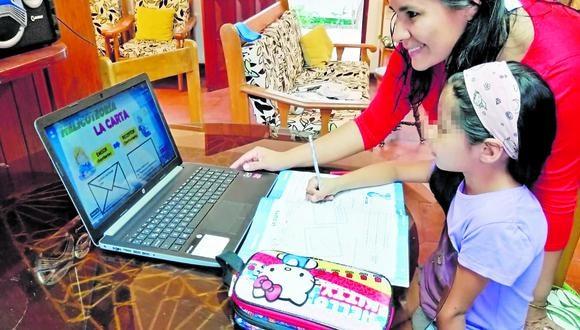95% del alumnado ya se conecta a clases virtuales