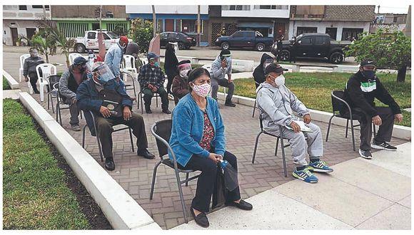 37 casos positivos en población de alto riesgo de Chimbote