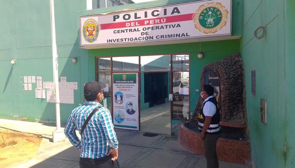 Policía investiga robo en vivienda del distrito La Yarada Los Palos