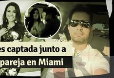 Tula Rodríguez y su ex Gino Barbieri se reencuentran en Miami