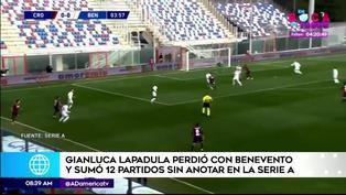 Gianluca Lapadula sigue sin anotar en la Serie A