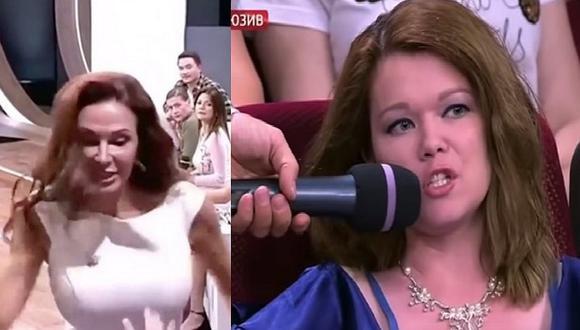 Actriz golpea en vivo a invitada a programa TV por criticar a su hijo con síndrome de Down (VIDEO)