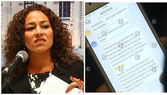 """Cecilia Chacón quiso defenderse tras mensajes en """"Mototaxi"""" pero usuarios le responden así (FOTOS)"""