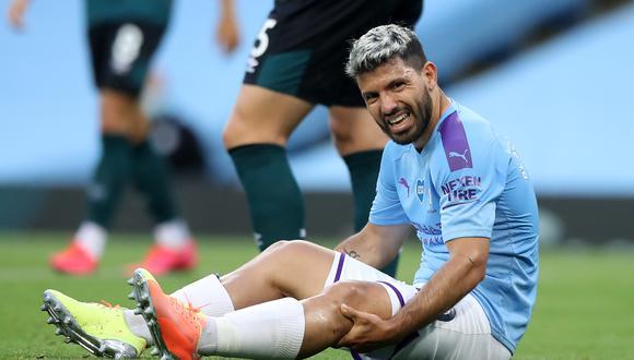 Sergio Agüero estuvo fuera de las canchas por cinco meses tras una operación a la rodilla. (Foto: AFP)