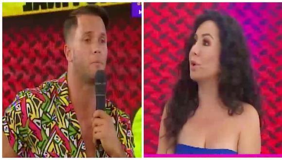 Fabio Agostini y Janet Barboza protagonizan tensa discusión en pleno programa (VIDEO)