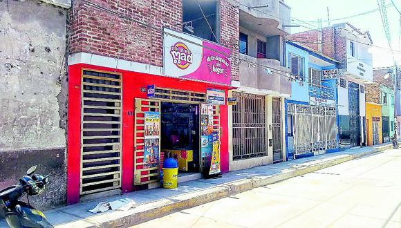 Con armas de fuego asaltan minimarket en la provincia de Ferreñafe