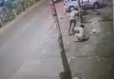 Caen tres delincuentes que acuchillaron a joven que opuso resistencia al robo de su celular en SMP (VIDEO)