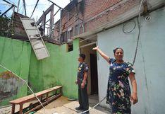 Dos menores fallecen durante incendio en Lurín (VIDEO y FOTOS)
