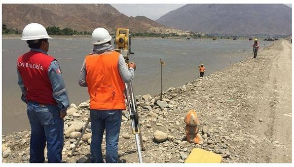 Contraloría detecta 445 hechos que ponen en riesgo obras de reconstrucción