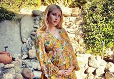 Emma Roberts enternece con la primera fotografía al lado de su bebé