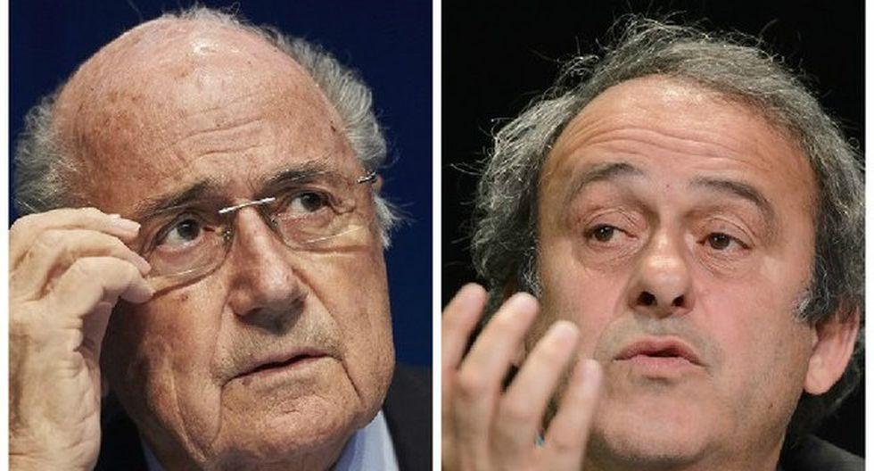 """Michel Platini sobre renuncia de Joseph Blatter: """"Es una decisión difícil, valiente y correcta"""""""