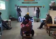 Ultiman detalles de seguridad y capacitación a miembros de mesa en Huancavelica