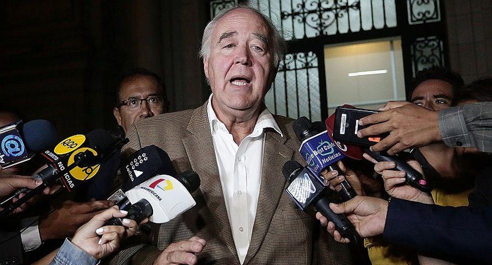 Víctor García Belaúnde alertó que instalaciones del Congreso no soportarían un fuerte sismo