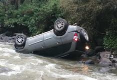 Huancavelica: Dos accidentes antes del Día de la Madre