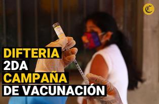 Este 7 y 8 de noviembre Inicia la segunda campaña de vacunación nacional contra la difteria