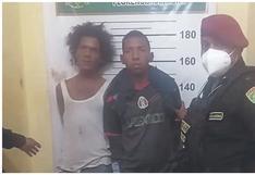 La Libertad: Caen dos colombianos tras intentar asaltar una maderera