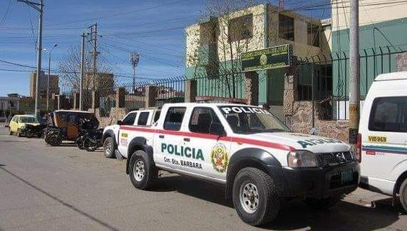 Los detenidos fueron trasladados hasta la comisaría de Juliaca para las investigaciones. (Foto: Referencial)