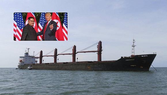 Estados Unidos incauta un buque norcoreano por romper sanciones