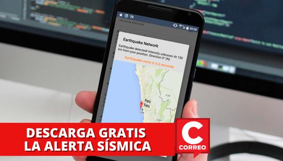 Apps para descargar en tu celular que te ayudarán a saber con antelación cuando esté a punto de ocurrir un eventual sismo o temblor. | Crédito: GEC / Composición