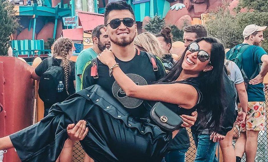 Melissa Paredes se despide de Rodrigo Cuba con emotivo mensaje antes de que viaje a México. (Foto: Instagram)