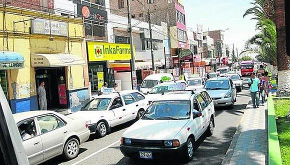 Cerca de 80 taxis dejarán de circular en el parque automotor de Tacna