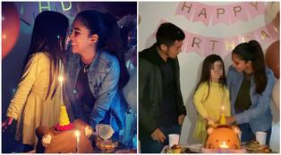 Rodrigo Cuba se muestra distante con Melissa Paredes en el cumpleaños de su hija (VIDEO)
