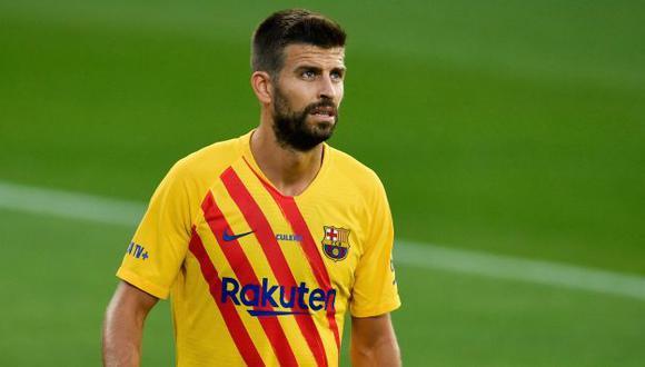 Además de Barcelona, Piqué también ha jugado en Real Zaragoza y Manchester United. (Foto: AFP)