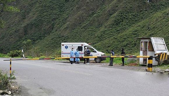 Motociclista queda herido tras accidente en la vía Interoceánica