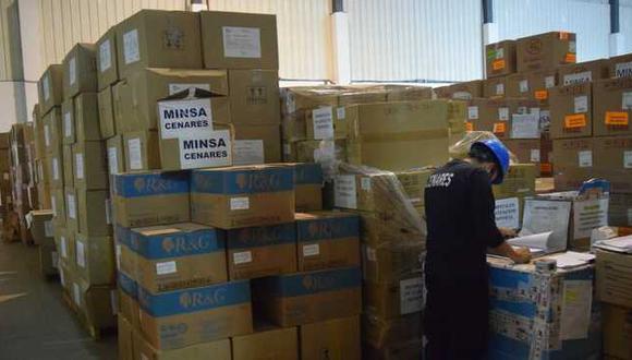 El Minsa envió, a ambas regiones, más de 500 mil equipos de protección personal, como chaquetas, pantalones, gorros descartables, lentes protectores. (Foto: Minsa)