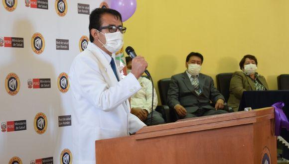 Puno: El gobierno regional de Puno nombró al director del hospital Carlos Monge Medrano de Juliaca, Fredy Velásquez Angles, como nuevo jefe del Comando Regional Regional COVID-19. (Foto: Diresa)