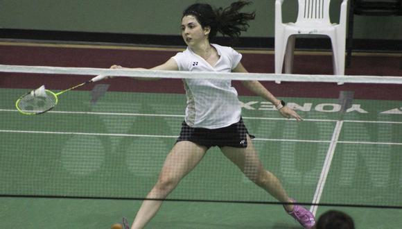 Daniela Macías logró clasificar a los Juegos Olímpicos Tokio 2020 gracias a su ránking mundial. (Foto: Bádminton Perú)