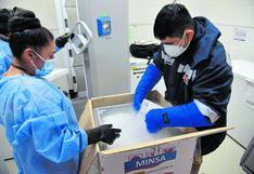 Chimbote: Llegan 16,380 vacunas para los adultos de 70 años