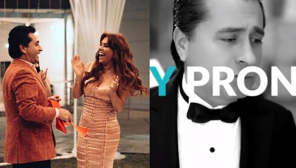 La conductora de TV viene haciendo la promoción del proyecto de su esposo a través de sus redes sociales.