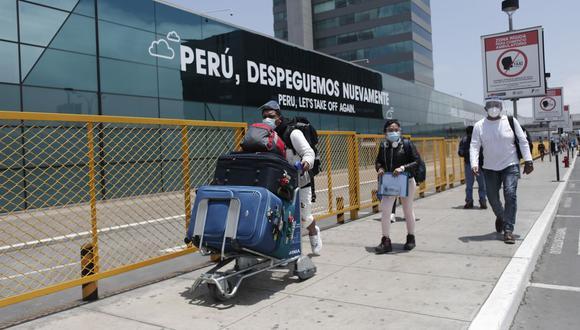 Aeropuerto Jorge Chávez. (Foto: GEC)