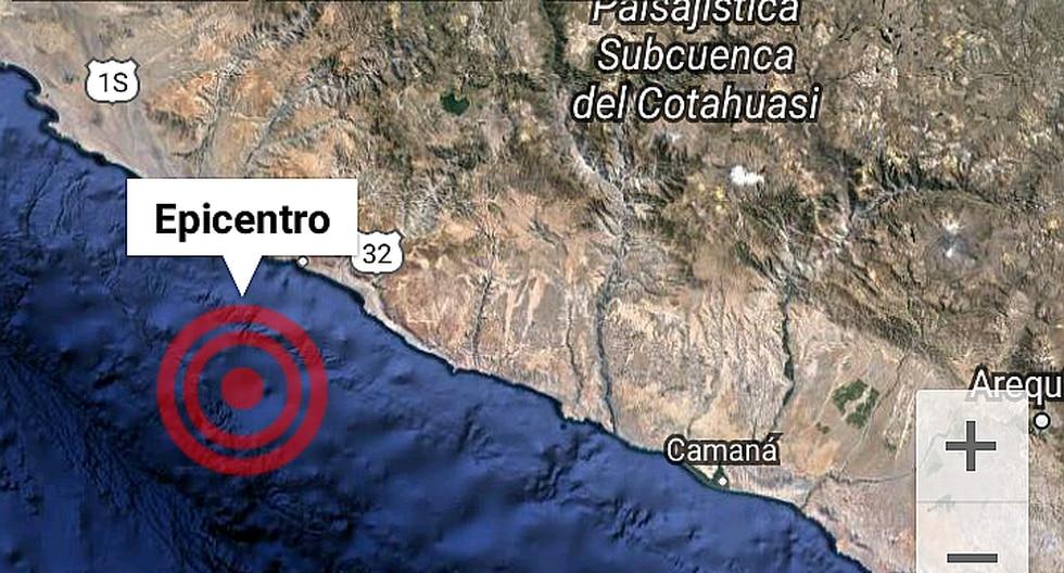 Sismo de 4.2 grados de magnitud registran en Arequipa
