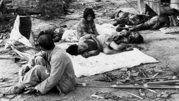 Supervivientes japoneses de la bomba atómica dan a conocer lo que vivieron