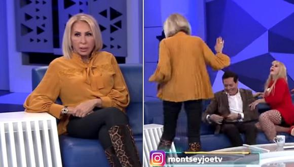 Laura Bozzo discute en vivo con conductora de TV y casi abandona el set (VIDEO)