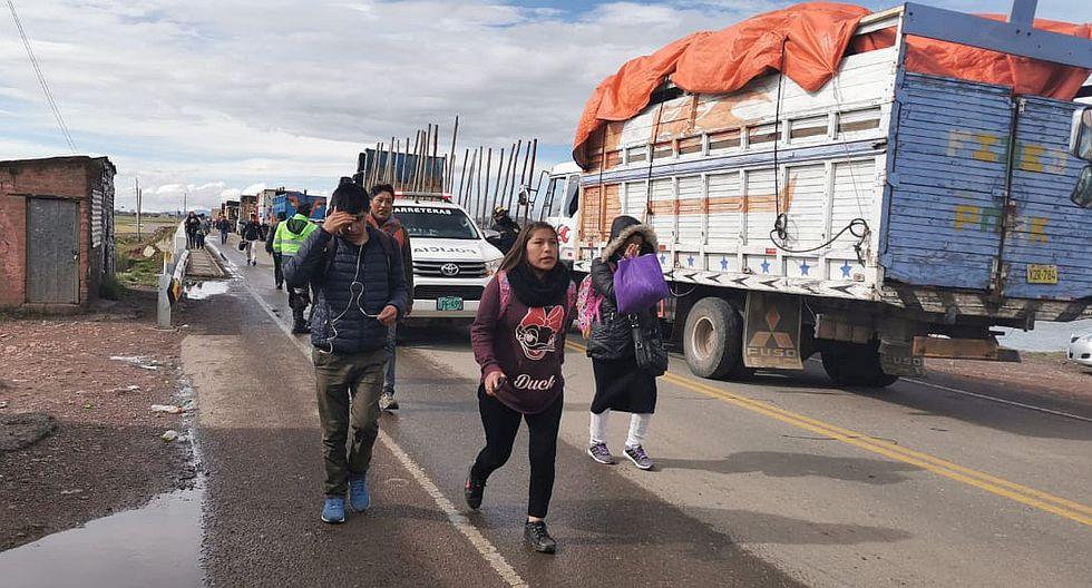 Revocan permisos especiales para transportistas en Puno