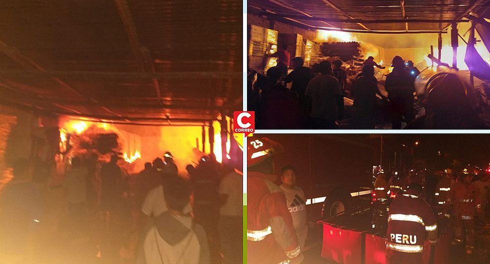 Incendio en maderera de Castilla deja daños materiales (VIDEO)
