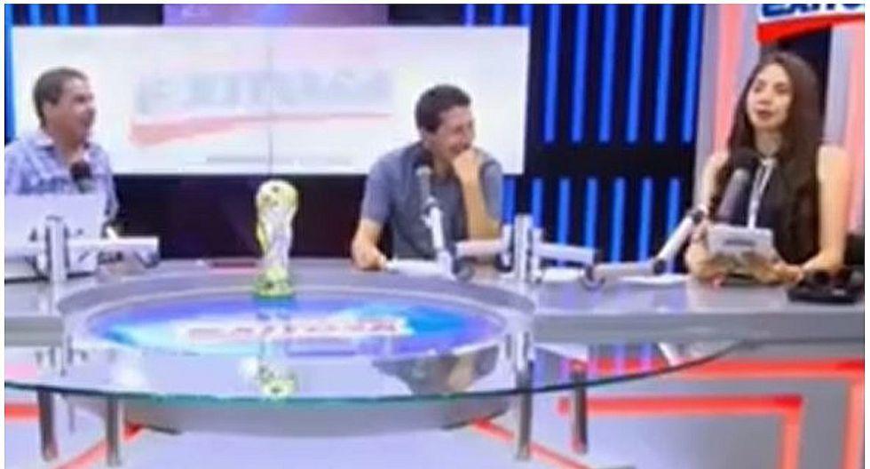 Gonzalo Núñez hace irrespetuoso comentario a su colega y ella le responde en vivo (VIDEO)