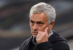 José Mourinho ha sido despedido por Tottenham, anunció el club de la Premier League