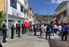 Ayacucho: Simpatizantes de Perú Libre marchan y exigen 'elecciones limpias'