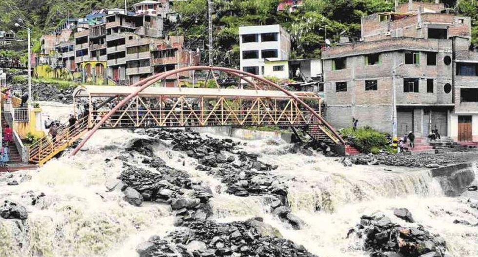 Defensa Civil: Lluvias provocan desborde de ríos y son un peligro para la población
