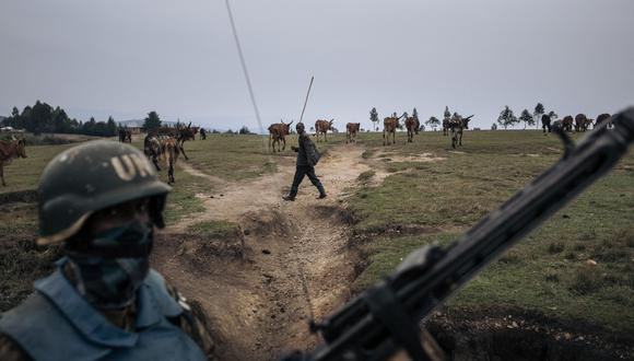 El noreste de la República Democrática del Congo lleva años sumida en un largo conflicto alimentado por decenas de grupos armados rebeldes nacionales y extranjeros. (ALEXIS HUGUET / AFP)