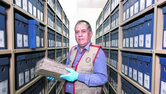 A puertas del Bicentenario, la máxima autoridad del ente rector que preserva nuestros documentos históricos revela a Correo los proyectos inmediatos de la institución. (Foto: César Campos / GEC)