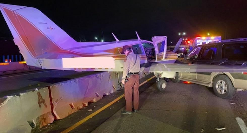 Ninguna persona resultó herida en el accidente ocurrido el miércoles en la noche en una importante autopista de Minnesota (Estados Unidos), según informaron las autoridades. (Facebook).