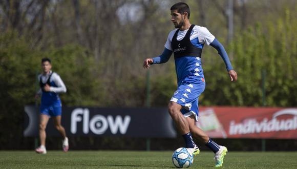 Luis Abram tiene coronavirus, confirmó Vélez Sarsfield. (Foto: Vélez Sarsfield)