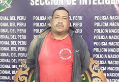 Capturan al Negro Marco por robo agravado en Arequipa