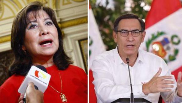 """Martha Chávez: """"Congreso destapa la gran corrupción y entraña delincuencial de Palacio"""""""