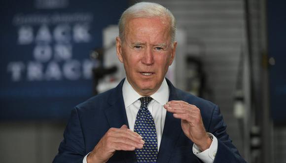 """Joe Biden aseguró que el Gobierno utilizará todas las herramientas a su alcance para ayudar a los refugiados que cumplan todos los trámites a escapar de las """"horribles condiciones"""" en las que viven en sus países de origen. (Foto:  MANDEL NGAN / AFP)"""